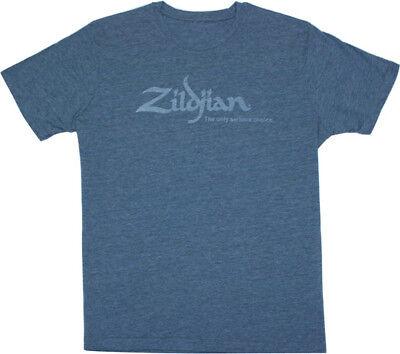 Zildjian Cymbals Classic Blue Logo Tee T-Shirt