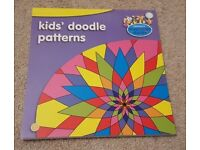 SAINSBURY'S KIDS DOODLE PATTERNS BOOK - UNUSED EXCELLENT CONDITION