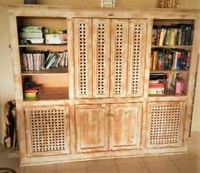 HUTCH / TV UNIT / BUFFET / CABINET - SHABBY BEACHY CHIC Upper Coomera Gold Coast North Preview