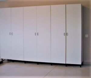 90' high Storage Cabinets in New Condition Ikea Pax. 3 Available