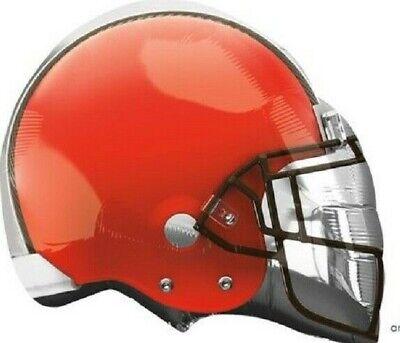 "21"" NFL Cleveland Browns Football Helmet Foil Mylar Balloon Lot of 4"