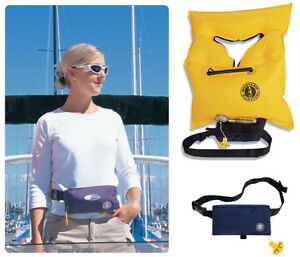 Inflatable Life Jacket PFD - Mustang Belt Pack