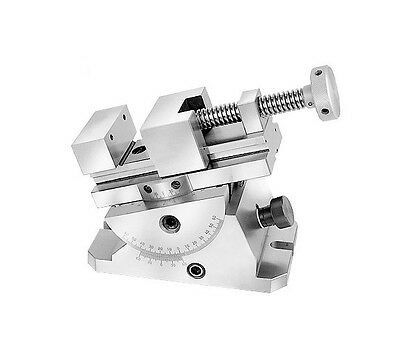 Precision Universal Movement Vise Jaw Width 2-34 New