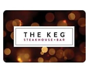 Keg Gift Cards Wanted.