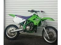 kawasaki kx 80 85 motorcross bike crosser pit bike yz cr ktm rm 250 125