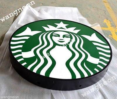 New Style Starbucks Starbuck スターバックス Coffee Cafe LIGHT BOX SIGN Fast Free Ship