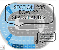 2 Tickets to 5 SECONDS OF SUMMER July 27 Edmonton Rexall Place