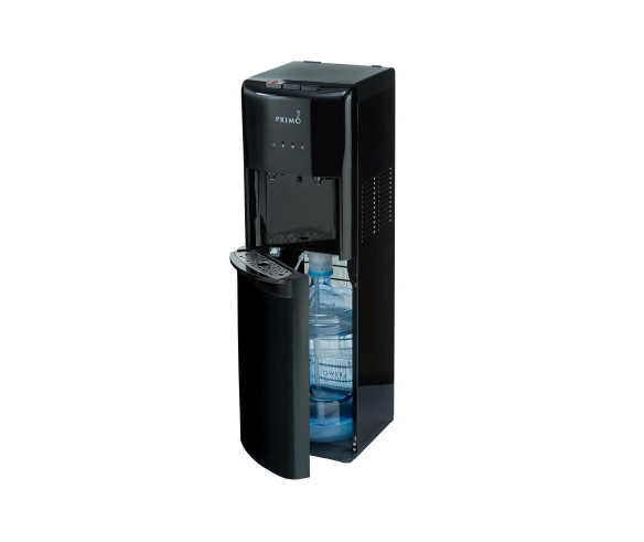 Primo Bottom Load Piping Hot/Ice Cold Water Dispenser Black