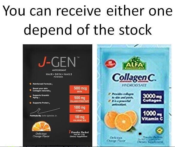 120 Capsules COLLAGEN HYDROLYSATE PLUS Vitamin C & FREE BIOTIN 5000 mg COLAGENO 1