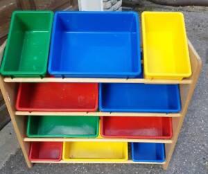 Storage bins - perfect for organizing kids toys