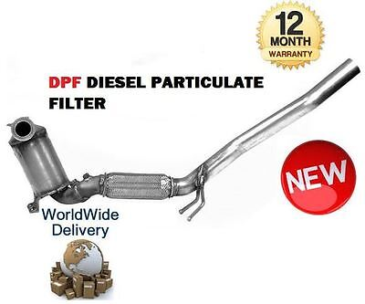 FOR AUDI A3 1.9TDI 2.0 TDI 2003 > DPF DIESEL PARTICULATE SOOT EXHAUST FILTER