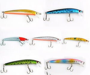 8-5g-100mm-Sinking-Fishing-Lures-Crankbait-Crank-Bait-Bass-Tackle-Treble-Hook