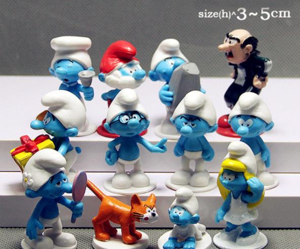 Lote De 12 Figuras De Los Pitufos Pvc Nuevas De Unos 7 Cm Disney - disney - ebay.es
