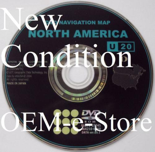 Toyota Sienna Parts >> Toyota DVD Navigation Map   eBay