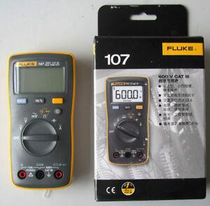 FLUKE 107 Palm-sized Digital Multimeter compared w/ FLUKE 17B F17B