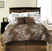 Brown Queen Bed Set