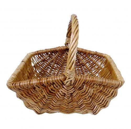 Rattan Flower Baskets : Wicker flower basket