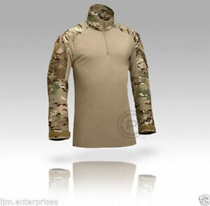 CRYE-PRECISION-ARMY-COMBAT-SHIRT-CUSTOM-MULTICAM-MEDIUM-LONG-New-in-package