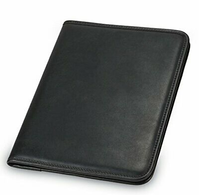 Portfolio Binder Leather Business Professional Folder Notepad Holder 8.5 X 11