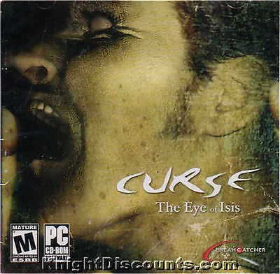 CURSE The Eye of Isis Adventure PC Game NEW Sealed