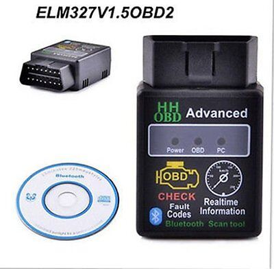 ELM327 V21 Bluetooth ODB2 Advanced Bluetooth Car Auto Diagnostic Scanner Tool N