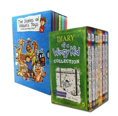 DIARY OF A WIMPY KID Set 12 Books 1-11 Plus MOVIE DIARY Jeff Kinney NO BOX
