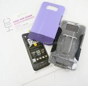 HTC HD2 Case Purple