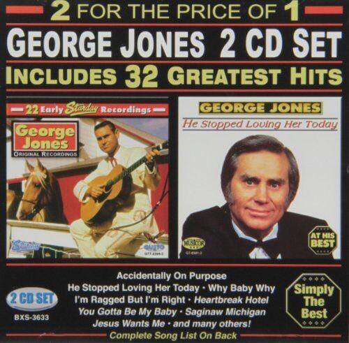 George Jones - 32 Greatest Hits [New CD]