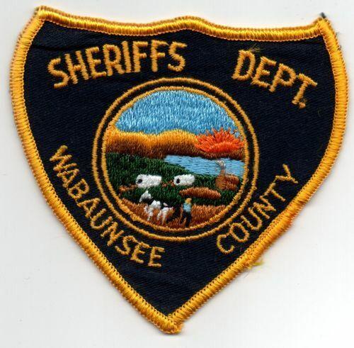 KANSAS KS WABAUNSEE COUNTY SHERIFF NICE PATCH POLICE