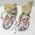Beaded Indian Moccasins
