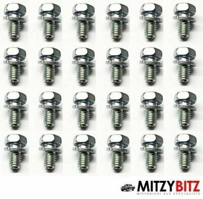 24 X Motor Cárter Aceite Pan Ajuste Tornillos Montero Io H61W 1.8...