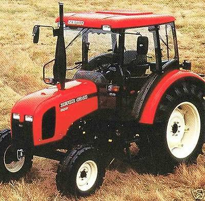 Zetor Tractor Shop Service Manual 3320 3340 4320 4340 5320 5340 5340 Horal