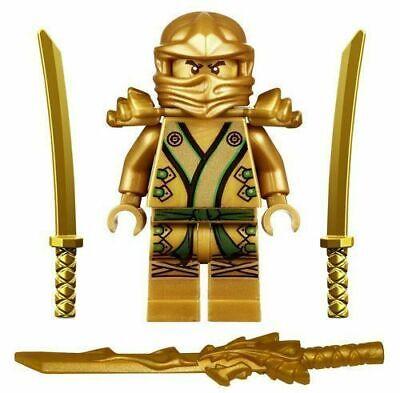 Ninjago Ninja Mini Figure Toy Lloyd Gold Ninja Fits Lego UK Stock Fast Shipping