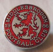 Middlesbrough Badge