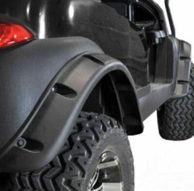 FOR EZGO TXT Golf Cart Fender Flares 96-13 Set of 4 W/ Self-taping Black Screws
