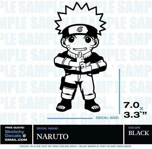 naruto stickers