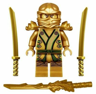 Ninjago Ninja Mini Figure Toy Lloyd Gold Ninja Fit lego