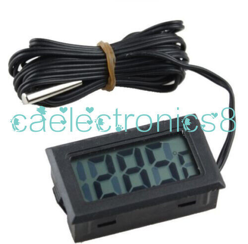 T110 TPM-10 Digital Thermometer Temperature Meter with 2m Probe -50°C to 70°C