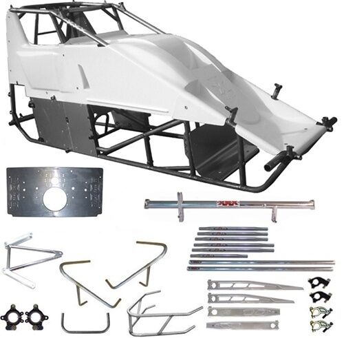 New Xxx Race Co Sprint Car Chassis Kit A,88/40 Standard