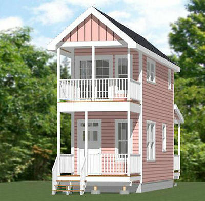 10X28 Tiny House    475 Sq Ft    Pdf Floor Plan    Model 3