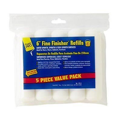 (FoamPRO 176-5 Fine Finish Mini Roller Refills (High-Density Foam) (5 Pack), 6