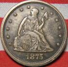1875 20 Cent Coin