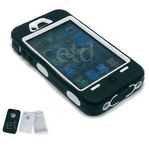 NEW Heavy Duty Builders Work Workman Armour Case for iPhone 4 & 4S - *STURDY*