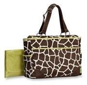Giraffe Print Diaper Bag
