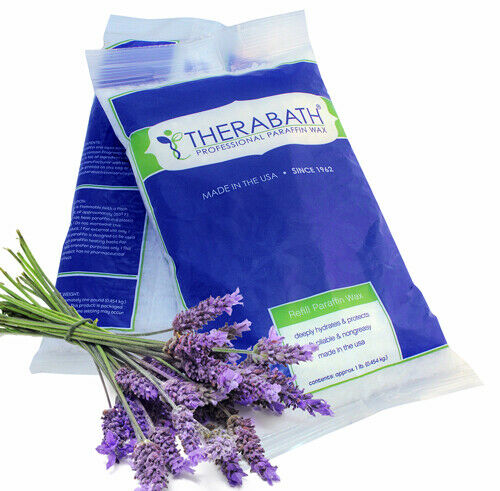 WR Medical Paraffin Wax Refill- Therabath 1 lb. Lavender Harmony Beads