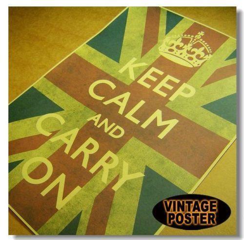 Keep Calm and Carry On | eBay