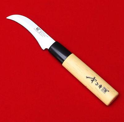 GoldSun Knife Chef Kitchen Cutlery Bone Japanese Bent Blade Travel Fruit IA_WE