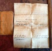 Antique Marriage Certificate