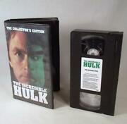 Incredible Hulk VHS