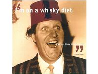 Tommy cooper greeting card humour